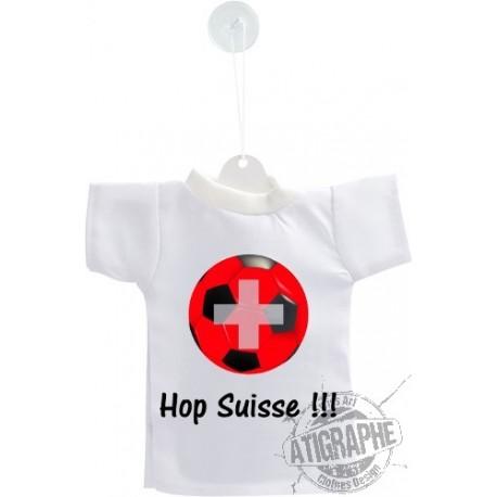 Mini Fussball T-Shirt - Hopp Schweiz - in französisch