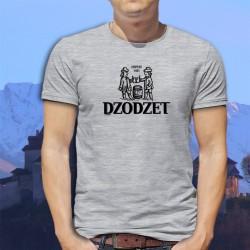 Dodzet depuis 1481 ★ T-Shirt fribourgeois homme (logo d'une bière célèbre du canton de Fribourg)