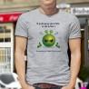 Men's T-Shirt -Si je dis que je vais le faire