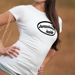 Frauen T-shirt - Jurassienne Inside