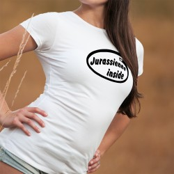 Jurassienne Inside ❤ Jurassienne à l'intérieur du T-shirt ❤ T-Shirt mode dame canton du Jura