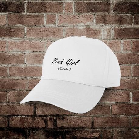 Baseball Cap - Bad Girl, What else ?