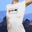 Fribourg license plate ★ Women's fashion T-Shirt