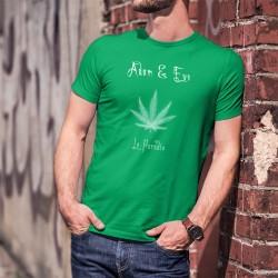 Le Paradis ★ Adam & Eve® ★ Uomo T-Shirt