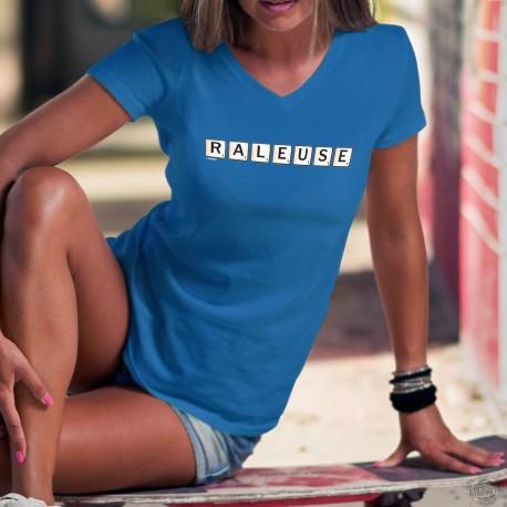 Baumwolle T-Shirt - Râleuse ✻ Scrabble