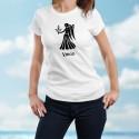 Vierge (Virgo) ♍ T-shirt signe astrologique mode dame