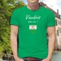 Men's Fashion cotton T-Shirt - Vaudois, What else ?