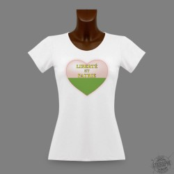 Women's slinky T-Shirt - Vaud Heart