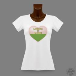 Women's slinky T-Shirt - Vaud Heart