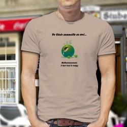Herren T-Shirt - Un Génie sommeille en moi