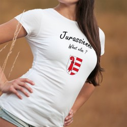 Damenmode T-shirt - Jurassienne, What else ?