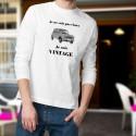 Vintage Renault 4L ★ Je ne suis pas vieux ★ Pull homme