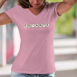 Women's cotton T-Shirt - Chiante ✻ Scrabble