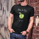 La Pomme ★ Adam & Eve® ★ Uomo T-Shirt