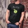 La Pomme ★ Adam & Eve® ★ T-Shirt coton mode homme avec la pomme qui provient de l'arbre de la connaissance du bien et du mal