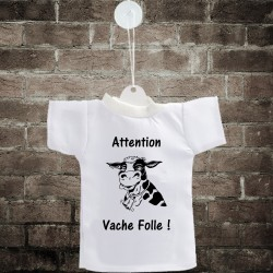 Car's Mini T-Shirt - Attention, vache folle !
