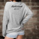 Women Sweatshirt - Adoléchiante, What else ?
