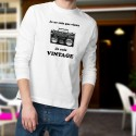 Men's Sweatshirt - Vintage radio