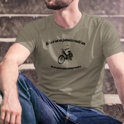 Boguet PUCH Maxi S ★ Si tu n'en n'as jamais roulé un, tu ne peux pas comprendre ★ T-Shirt homme