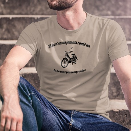 Uomo T-Shirt - Si tu n'as jamais roulé un Boguet