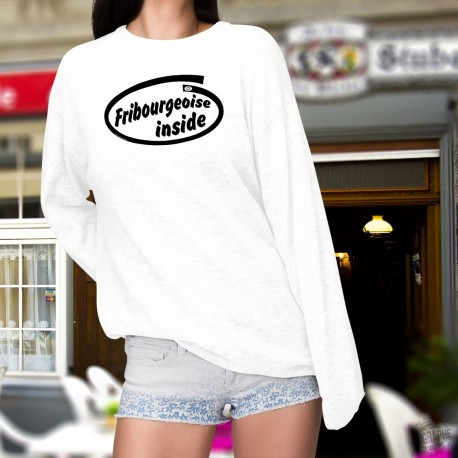 Fribourgeoise inside ★ Fribourgeoise à l'intérieur du chandail ★ Pullover dame