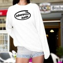 Women's Funny Sweatshirt - Fribourgeoise inside