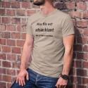 Men's T-Shirt - Mon fils est adoléchiant