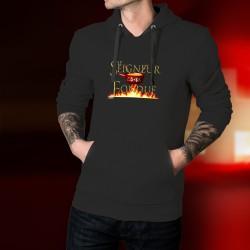 Cotton Hoodie T-Shirt -Le Seigneur de la Fondue
