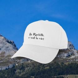 """La Raclette, c'est la vie ✪ Casquette de Baseball inspirée de la phrase """"Le Gras, c'est la vie"""" de Karadoc dans Kaamelott"""
