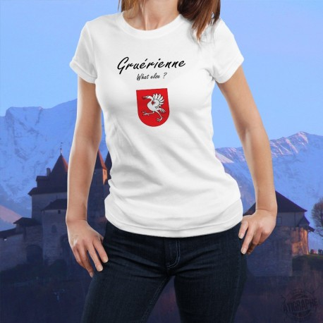 Donna T-shirt stretto - Gruérienne, What else ?