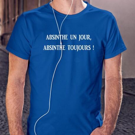 cotone T-Shirt - Absinthe un jour, Absinthe toujours