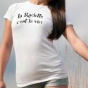 Fashion T-Shirt - La Raclette, c'est la vie