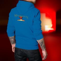 Cotton Hoodie T-Shirt -Der Herr des Fondues