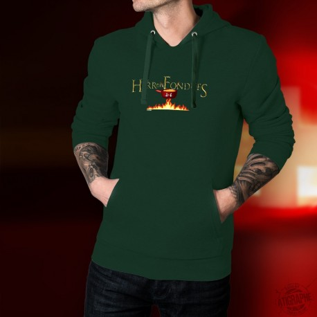 Cotton Hoodie T-Shirt -Der Herr des Fondues