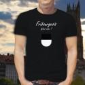 Uomo Moda cotone T-Shirt - Fribourgeois, What else ?