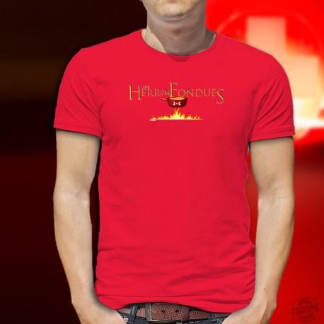 Der Herr des Fondues ★ T-Shirt coton homme