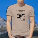 Men's T-Shirt - Je veux juste aller skier