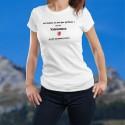 Valaisanne, la femme presque parfaite ❤ T-Shirt mode dame