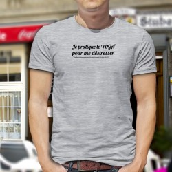 Funny T-Shirt - Yoga masculin