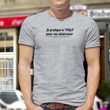T-Shirt - Yoga masculin
