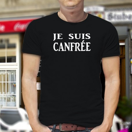 Uomo cotone T-Shirt - Je suis CANFREE
