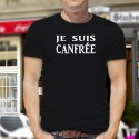 Men's cotton T-Shirt - Je suis CANFREE