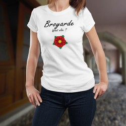 Donna T-shirt stretto - Broyarde, What else ?