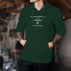 Maglione di cotone con cappuccio - Jurassien, l'Homme parfait