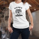 Vintage Flower Power ✿ version allemande ✿ T-Shirt dame