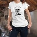 Vintage VW Bus Flower Power ✿ Ich bin nicht alt ✿ Frauenmode T-shirt