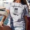 Génération quatre-vingt-dix ❤ Console Game boy ❤ T-Shirt décontracté dame