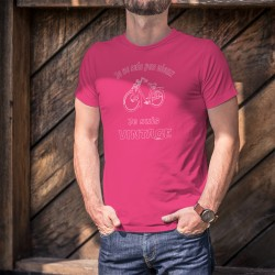 Vintage vélomoteur Solex ★ Je ne suis pas vieux, je suis Vintage ★ T-Shirt coton homme Vélosolex avec le moteur à l'avant