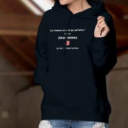 Cotton Hoodie T-Shirt - Jurassienne, femme parfaite