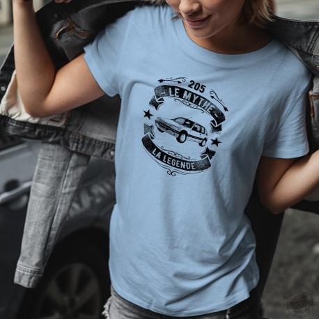 Peugeot 205 ❤ le mythe, la légende ❤ Frauen casual T-Shirt